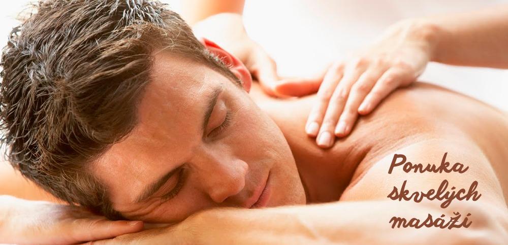 Ponuka skvelých masáží